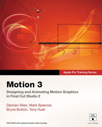 Motion 3 [With DVD-ROM] 9780321509109