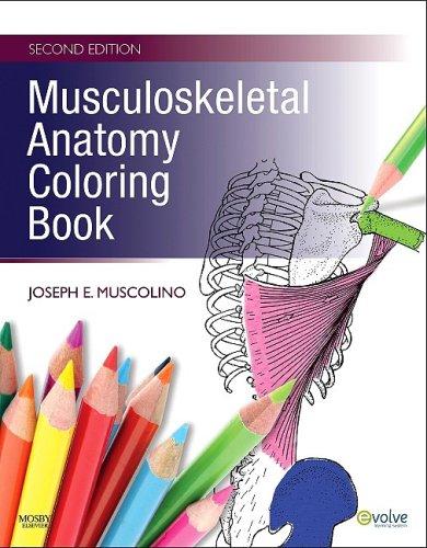 Musculoskeletal Anatomy Coloring Book 9780323057219