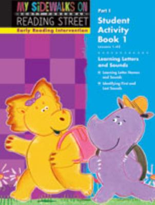Early Reading Intervention Student Activity Book Grade K Part 1 9780328260508