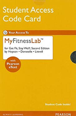 MyFitnessLab Student Access Code Card 9780321773272