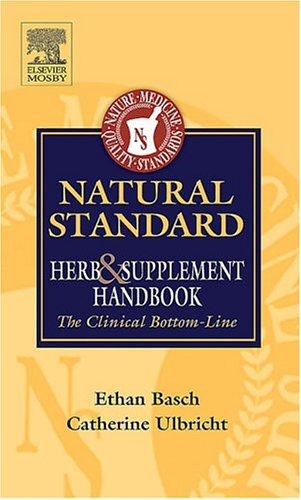 Natural Std Herb & Suppl Handbook 9780323029933