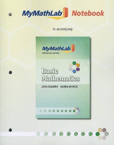 Basic Mathematics 9780321725479