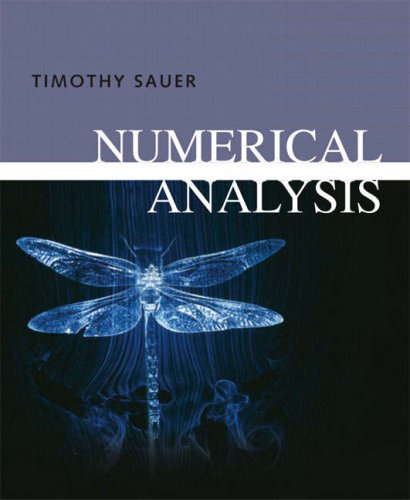 Numerical Analysis [With CDROM] 9780321268983