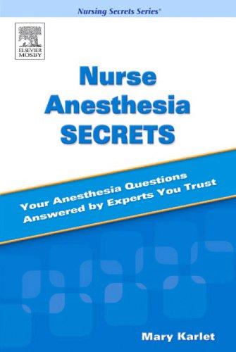 Nurse Anesthesia Secrets 9780323031448