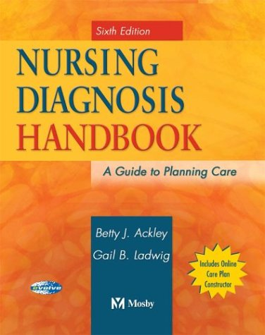 Nursing Diagnosis Handbook: A Guide to Planning Care 9780323025515