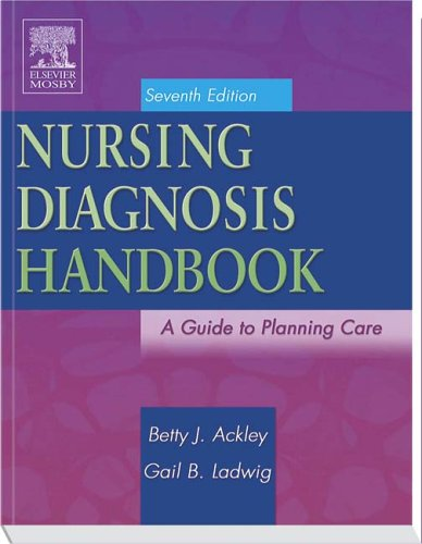 Nursing Diagnosis Handbook: A Guide to Planning Care 9780323036641