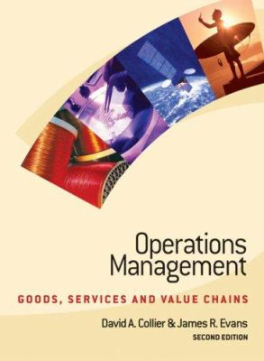 Operations Management: Goods, Service, and Value Chains [With 2 CD-ROMs] 9780324179392