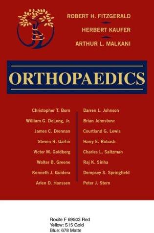 Orthopaedics 9780323013185
