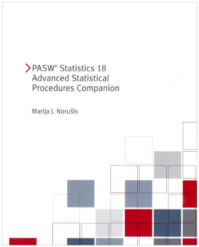 PASW Statistics 18 Advanced Statistical Procedures Companion [With CDROM] 9780321690579