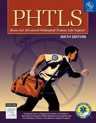 PHTLS: Prehospital Trauma Life Support [With DVD] 9780323033312
