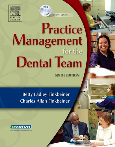 Practice Management for the Dental Team [With CDROM] 9780323033824