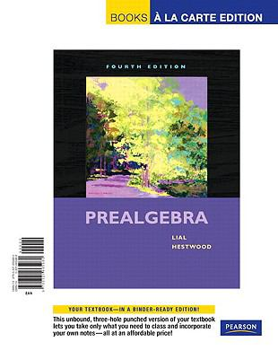Prealgebra, Books a la Carte Edition 9780321665980
