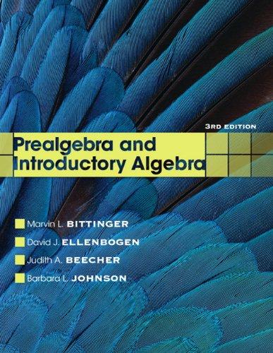 Prealgebra and Introductory Algebra 9780321731630
