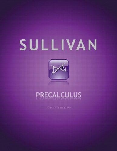 Precalculus 9780321716835