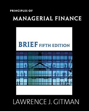 Principles of Managerial Finance 9780321524126