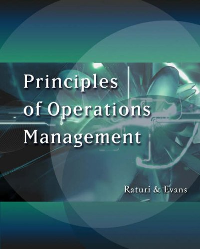 Principles of Operations Management [With CDROM] 9780324008968