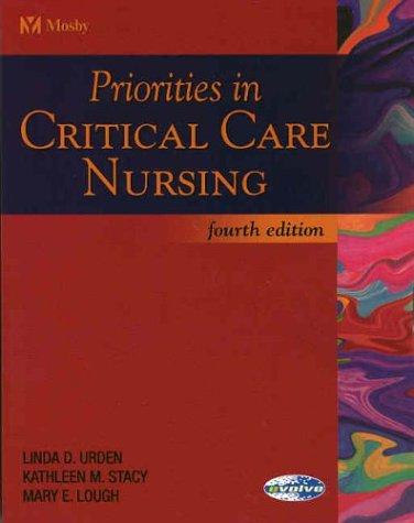 Priorities in Critical Care Nursing 9780323024815