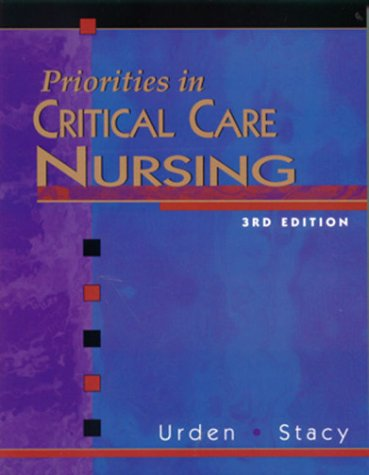 Priorities in Critical Care Nursing 9780323010009