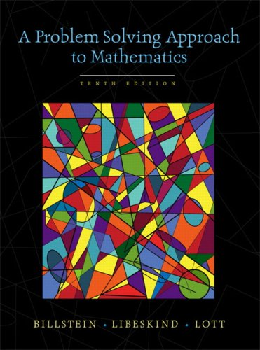 Problem Solving Approach to Mathematics, a (Recover) 9780321570543