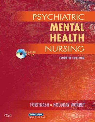 Psychiatric Mental Health Nursing [With CDROM] 9780323046756