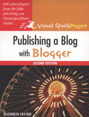 Publishing a Blog with Blogger 9780321637529