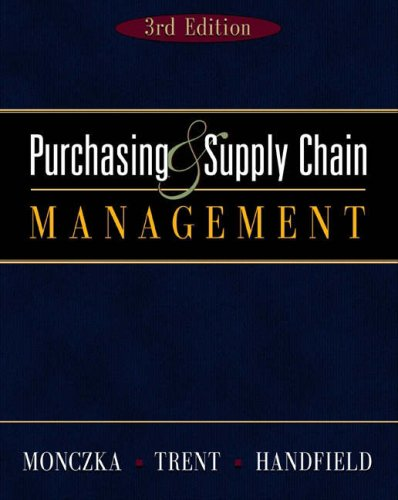 Purchasing and Supply Chain [With Infotrac] 9780324202540