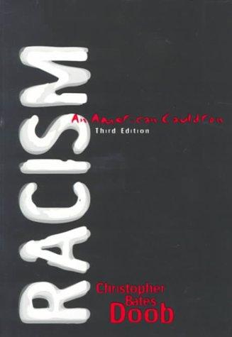 Racism: An American Cauldron 9780321023698