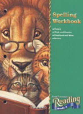 Reading 2000 Spelling Workbook Grade 3 9780328016518