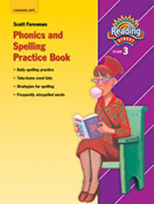 Phonics and Spelling Practice Book, Grade 3 9780328146482