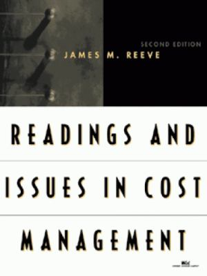 Readings and Issues in Cost Management 9780324022988