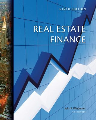 Real Estate Finance [With CDROM] 9780324181425
