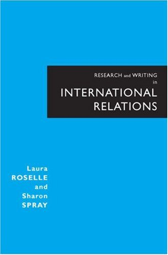 Research and Writing in International Relations 9780321277664