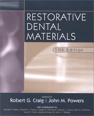 Restorative Dental Materials 9780323014427