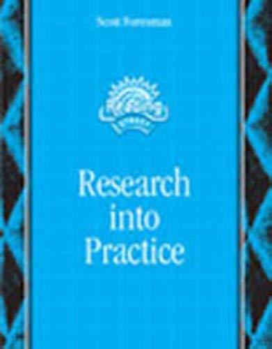 Reading 2007 Research Handbook Pre-K/Grade 6 9780328222674