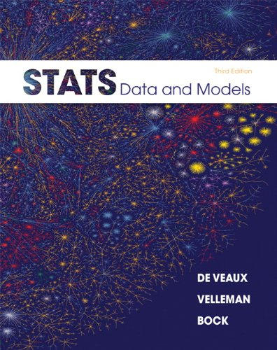 STATS: Data and Models [With DVD ROM] 9780321692559