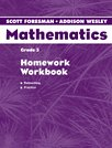 Scott Foresman Addison Wesley Math 2004 Homework Workbook Grade 3