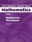 Scott Foresman Addison Wesley Math 2004 Homework Workbook Grade 3
