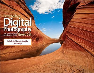 Scott Kelby's Digital Photography Boxed Set: The Digital Photography Book, Volumes 1 and 2 [With 8x10 Print, Signed by Scott Kelby] 9780321603531