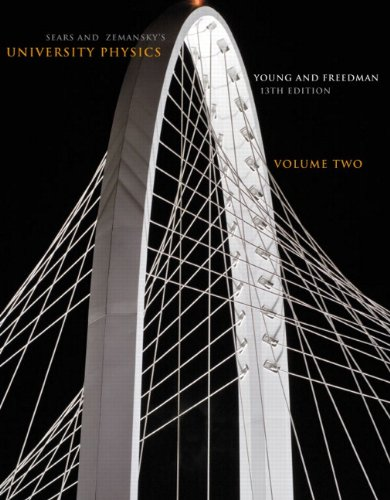 Sears and Zemansky's University Physics, Volume 2 9780321751218