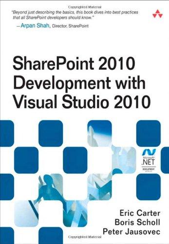Sharepoint 2010 Development with Visual Studio 2010 9780321718310