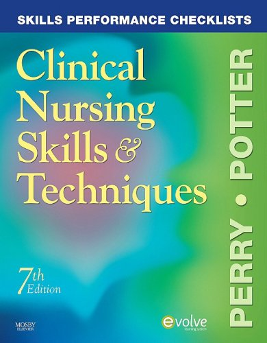 Skills Performance Checklists for Clinical Nursing Skills & Techniques 9780323054850