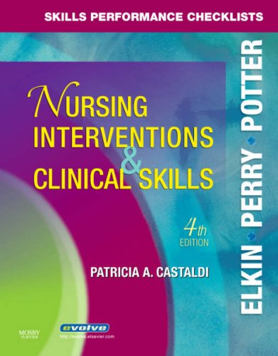 Skills Performance Checklists for Nursing Interventions & Clinical Skills 9780323047364