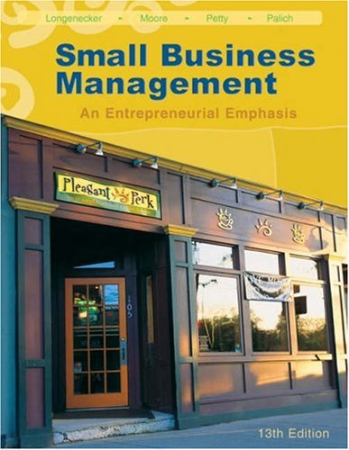 Small Business Management: An Entrepreneurial Emphasis [With CD-ROM] 9780324226126
