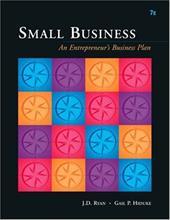 Small Business: An Entrepreneur's Business Plan 1023086