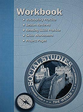 Social Studies 2003 Workbook Grade 6 World History 9780328019458