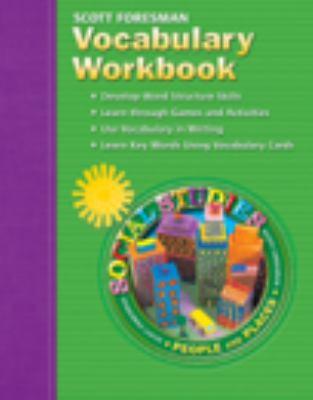 Social Studies 2005 Vocabulary Workbook Grade 2