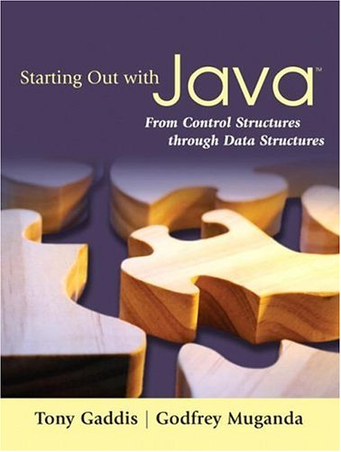Starting Out with Java: From Control Structures Through Data Structures [With CDROM] 9780321421029