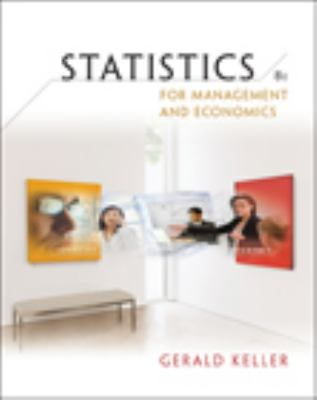 Statistics for Management and Economics [With CDROM] 9780324569490