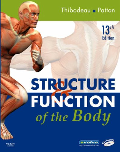 Structure & Function of the Body [With CDROM] 9780323049917