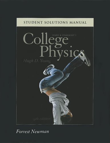 Student Solutions Manual for College Physics 9780321747693